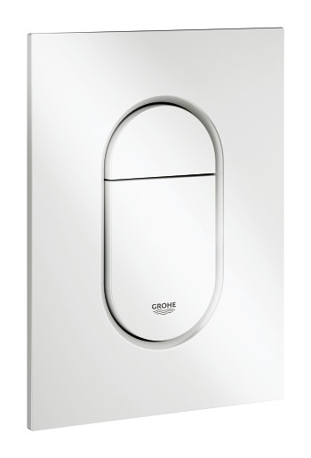 grohe arena cosmopolitan s plaque de commande wc blanc. Black Bedroom Furniture Sets. Home Design Ideas