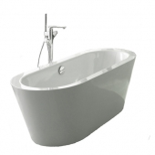 Bette BetteStarlet Oval - Silhouette 1650 x 750 mm freistehend weiß