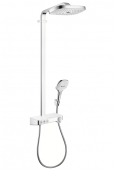 Hansgrohe Select - Showerpipe Raindance weiss/chr