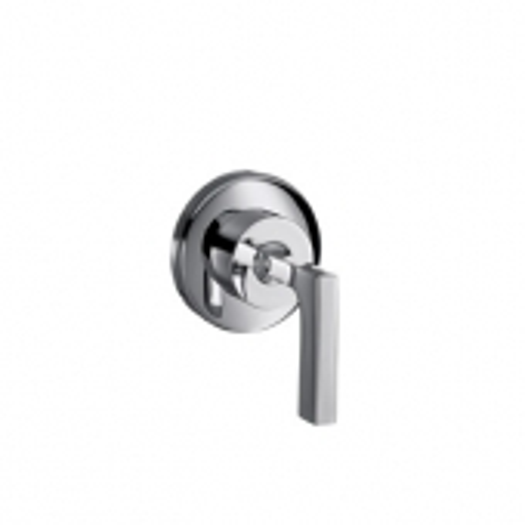Hansgrohe Axor Citterio - Set de finition pour robinet d'arrêt 1/2\ et 3/4\ poignée manette